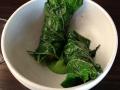 Torskmjölke med picklat krusbär, krasse och tempurainslagen med seraptasenap